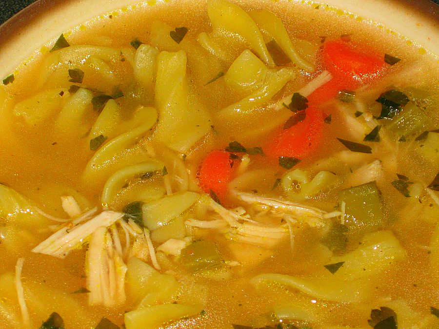 "Turkey Noodle Soup (A variation of Ina Garten's ""Chicken Noodle ..."