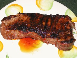 Grilled NY Strip Steak