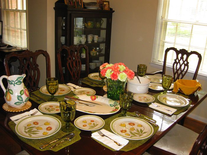 Sunday Supper Table